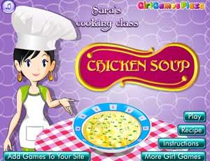 Cocina con Sara: sopa de pollo