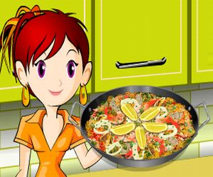 Juegos arcade y flash gratis - Juegos de cocina con sara paella ...
