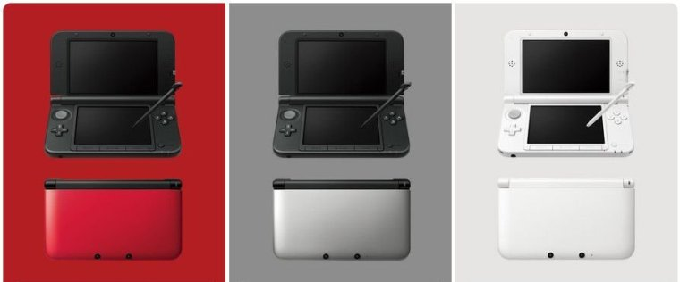 Nintendo 3DS XL - Colores
