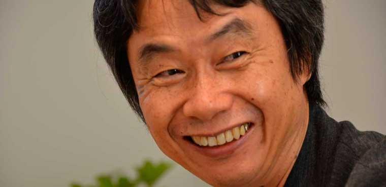 Shigeru Miyamoto de Nintendo