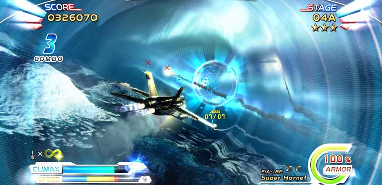 After Burner Climax aterrizará en iOS
