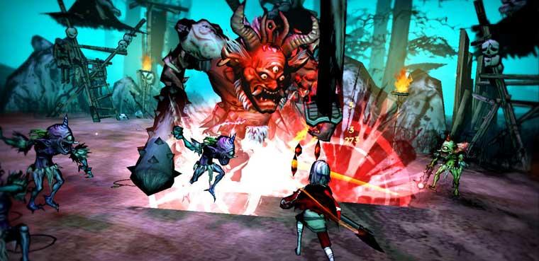 Akaneiro: Demon HuntersAndroid-iOS-Mac-PC