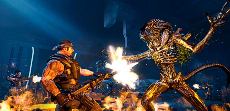 Aliens: Colonial Marines - Modo Escape presentado