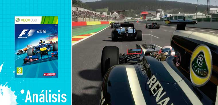 F1 2012 - Os traemos el análisis
