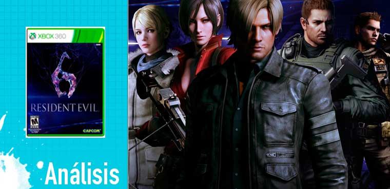 Resident Evil 6 para Xbox 360