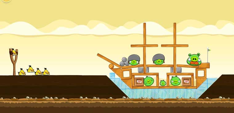 Angry Birds-iOS-Android-Mac-PC
