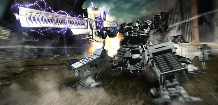 'Armored Core V' ya tiene nuevo vídeo para Xbox 360 y PS3