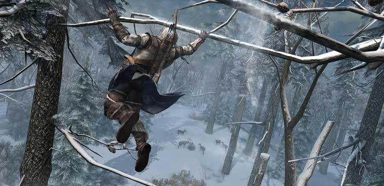 Assasins Creed III - Cambio de tercio