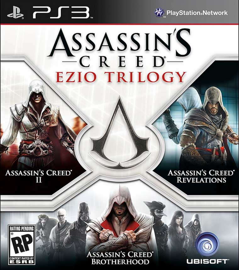 Assassin´s Creed Ezio Trilogy-PS3