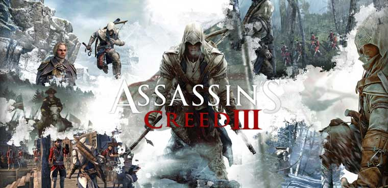 Assassin's Creed 3-PS3-PC-Xbox 360-Wii U