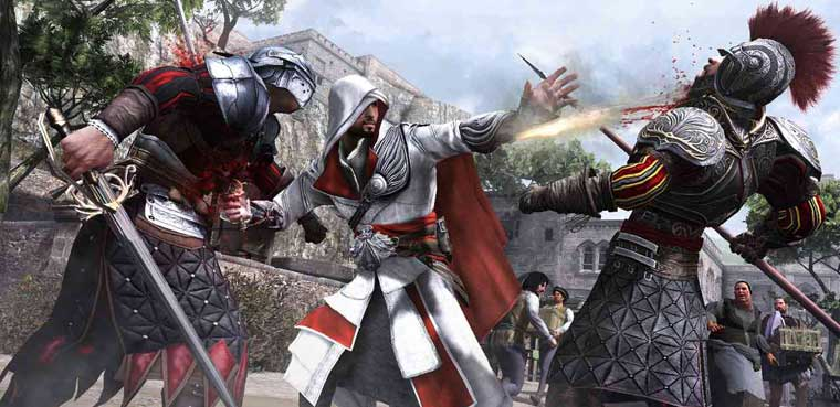 Assassin's Creed Ezio Trilogy-PS3
