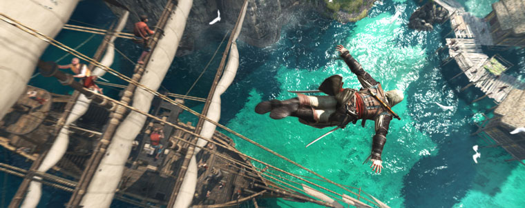 Assassin's Creed IV: Black Flag para PS4 y Xbox One