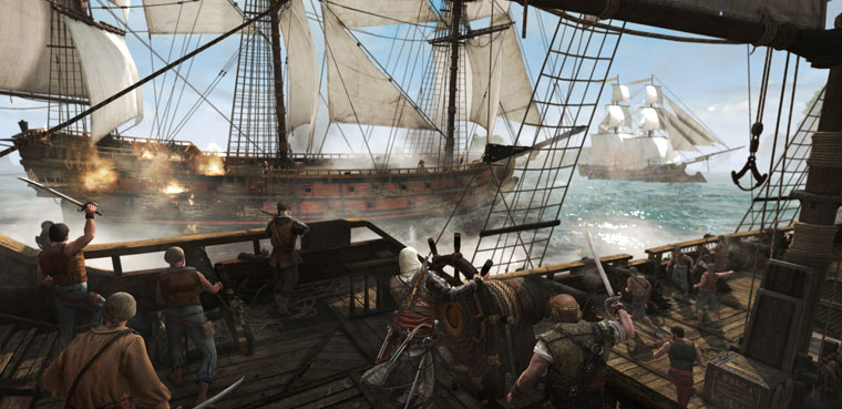Assassin's Creed IV para PC, PS3, PS4, Xbox 360, Xbox One, Wii U
