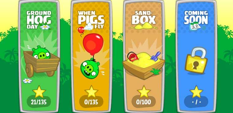 Bad Piggies HD para iOS, Android, Mac y PC