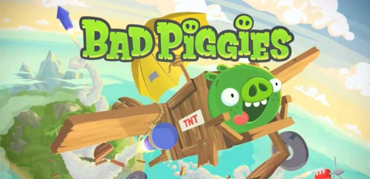 Bad Piggies-iOS-Android-Mac-PC