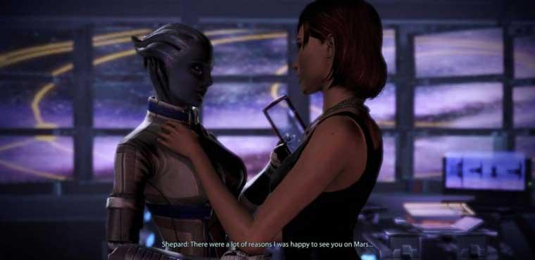 BioWare Mass Effect romance gay
