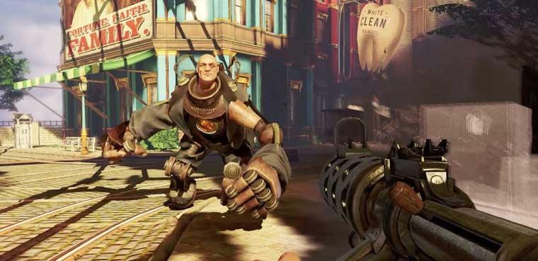 Bioshock Infinite-PS3-Xbox 360-PC