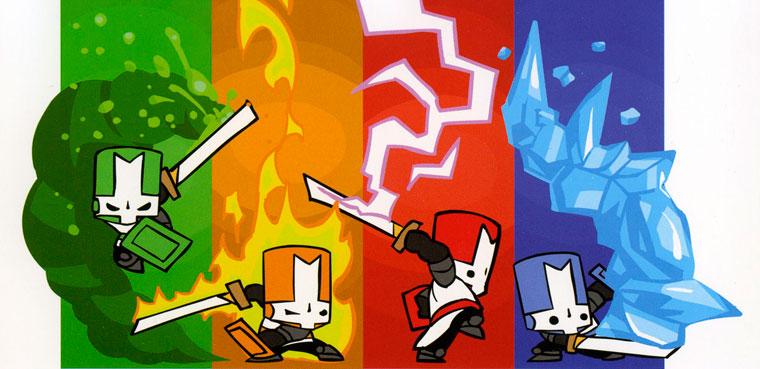 Castle Crashers - En breve en Steam