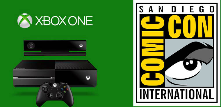Xbox One en el Comic-Con 2013
