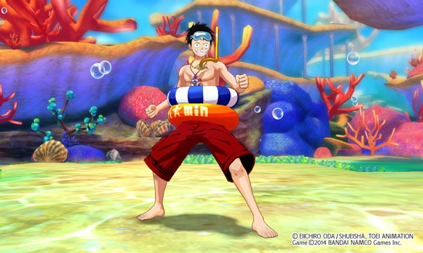 Costume Luffy Swimsuit screenshot39_1409044499