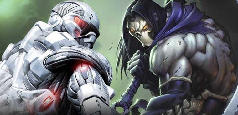 Crysis y Darksiders, Crytek y Vigil