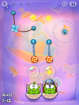 Cut the Rope: Time Travel para iOS