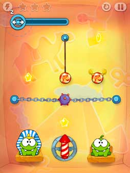 'Cut the Rope: Time Travel' para iOS