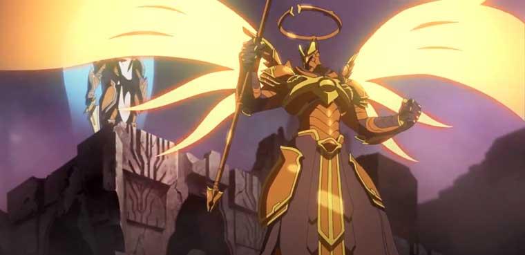 Imagen de corto animado Wrath - Diablo III