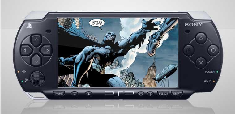 Digital Cómics-PSP
