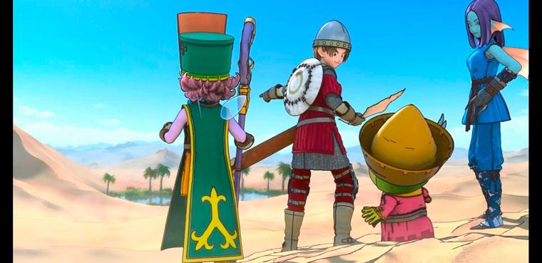 La ultima Nintendo Direct ha sido para 'Dragon Quest X'