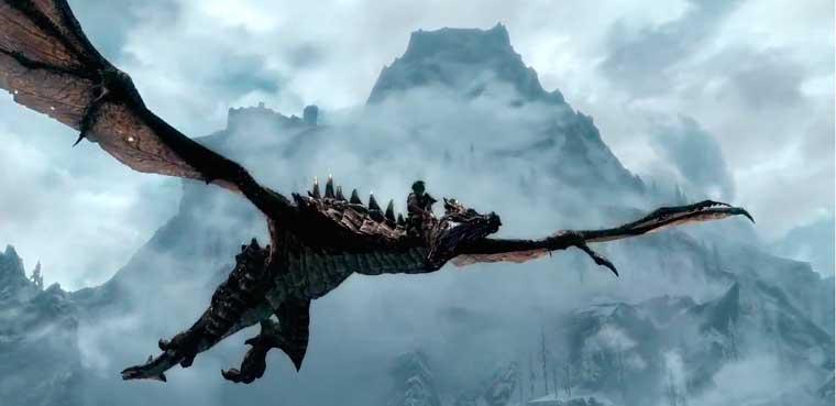 Dragonborn paa Xbox 360