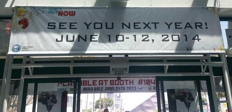 E3 2014 ya tiene fecha tras la asistencia masiva al E3 2013