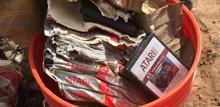 En busca del tesoro de Atari