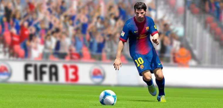 Fifa 13 para PC,PS3, XBOX 360,3DS, Wii, PSP, PSVITA, PS2