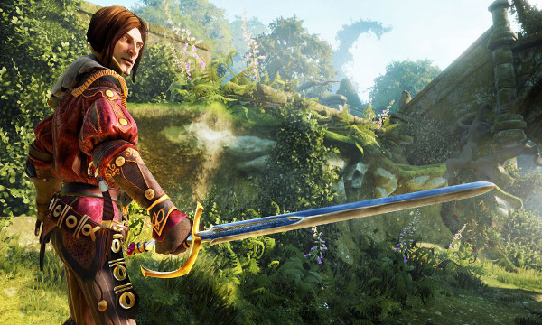 Escenarios coloridos en Fable Legends.