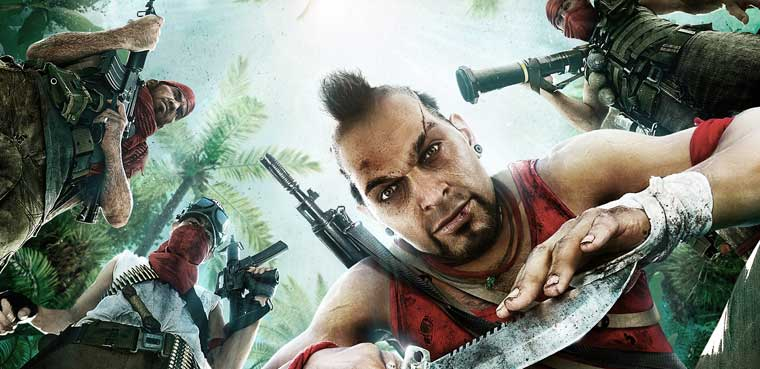Far Cry 3-PS3-PC-Xbox 360