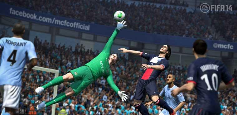 'FIFA14' pierde un 24% respecto a 'FIFA 13'