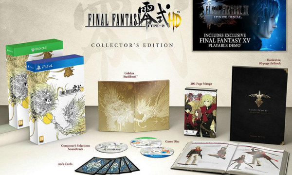 Final Fantasy Type-0 collectors edition