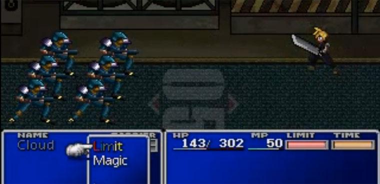 Final Fantasy VII 2D