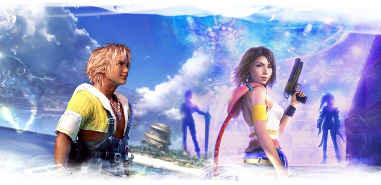 Final Fantasy X/X-2-PS3-PS Vita