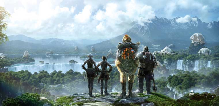 Final Fantasy XIV: A Realm Reborn-PC-PS3