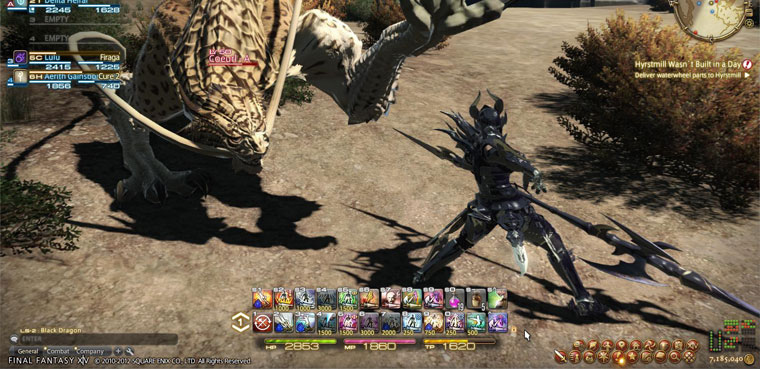 Final Fantasy XIV-PS3-PC