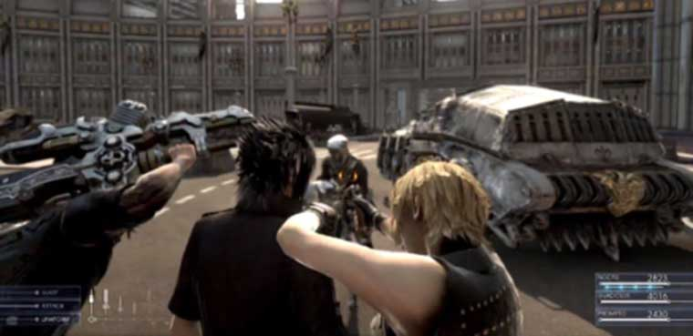 Final Fantasy XV PS4 XBOX ONE