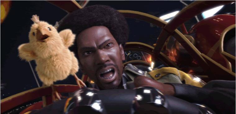 Sazh llega a 'Final Fantasy XIII-2' a golpe de cara o cruz