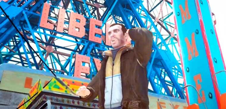 Niko Bellic - Bailando el Gangnam Style