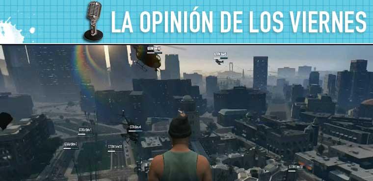 GTA Online opinión