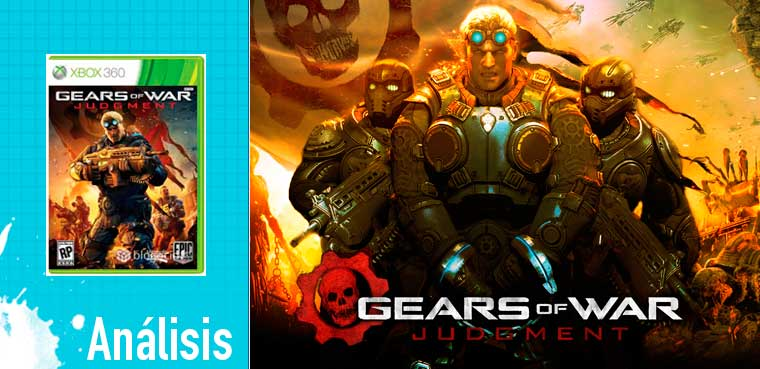 Gears of War: Judgment: Análisis para Xbox 360