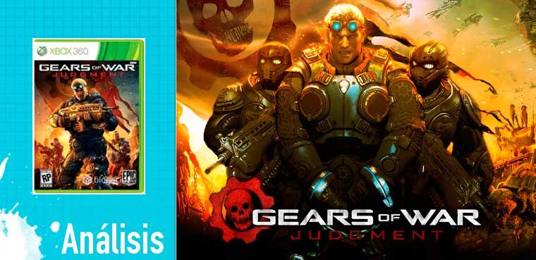 Gears of War: Judgment: Análisis para Xbox 360