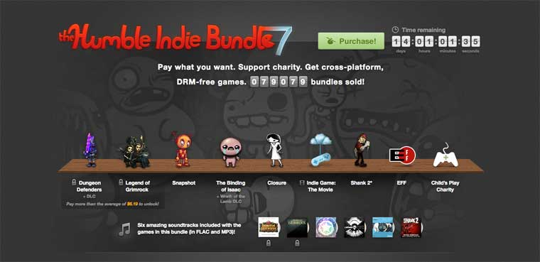 Humble Indie Bundle 7-PC-Mac-Linux