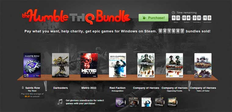 The Humble THQ Bundle para PC